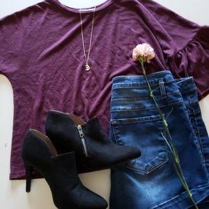 Simple Purple Crop-top